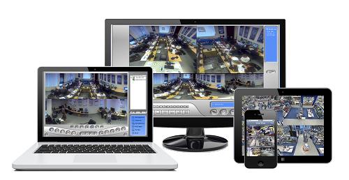 Installation d'Écran de vidéosurveillance
